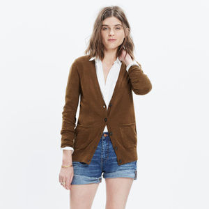 Madewell | Button Up Graduate Cardigan Sweater